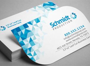 Business card printing online printrunnercom for Where can i get business cards printed same day