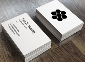 Business cards custom printing of standard and square business 4 smart tricks to attract new clients with your business cards reheart Choice Image